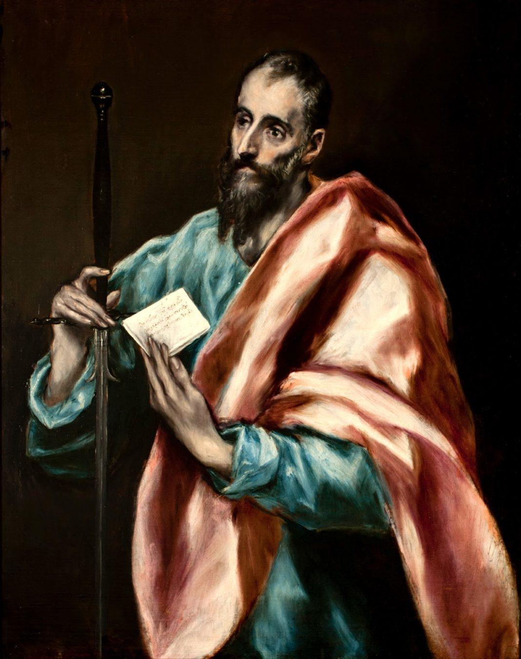 El Greco Saint paul
